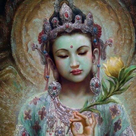 Quan Yin mother of mercy and compassion